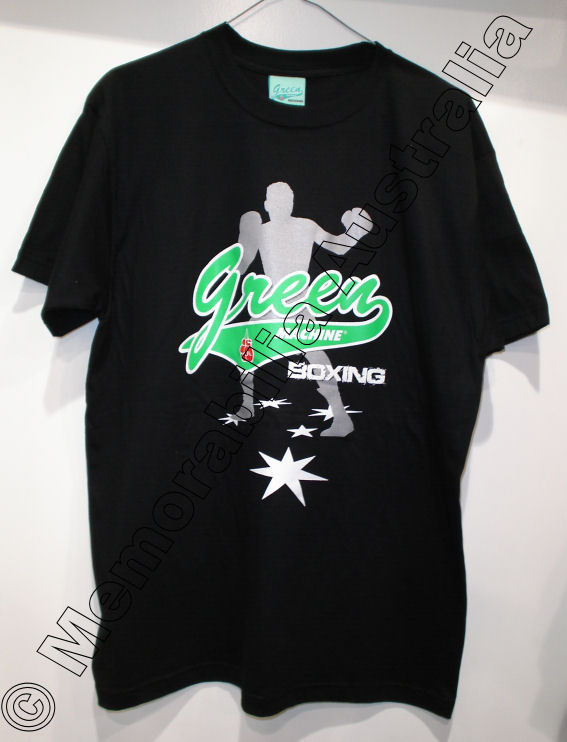 Official Danny Green black t-shirt with new logo design