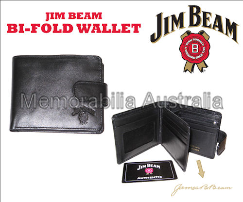 Jim Beam Authentic Bifold Wallet